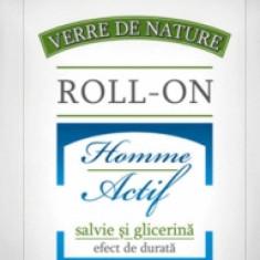 Deodorant Roll-on Homme Actif cu salvie si glicerina 50ml Manicos