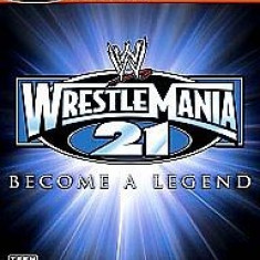 Wrestlemania 21 - BEcome a legend - XBOX [Second hand], Actiune, 18+, Multiplayer
