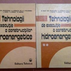 Tehnologii de executie a constructiilor hidroenergetice. 2 Volume - M. Bala, Alta editura, 1985