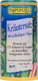 Sare iodata cu 15 % ierburi legume si alge Bio 125g Rapunzel