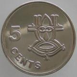 INSULELE SOLOMON - 5 Cents 2005 UNC
