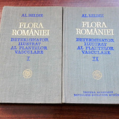 Alexandru Beldie Flora Romaniei  Determinator ilustrat al plantelor vol  1-2