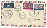 284 AIRPLANE, Flight Romania-Poland - cover - used - 1973