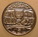 2.793 VATICAN PAPA IOAN PAUL II 50 LIRE 1993 AUNC, Europa