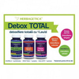 Chlorella 60 cps + Zeolit 60 cps + Detox Activ 60 cps Herbagetica