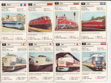 bnk jc Germania - carti de joc cu locomotive