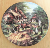 Farfurie - de colectie - port. Englezesc - Wedgwood - Country Days - 1991