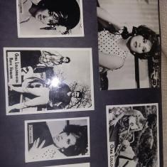 album foto alb/negru vechi,actori cantareti,artisti,portrete,scene din filme