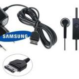 Incarcator + Casti Samsung ATADS30EBE Nou - Original