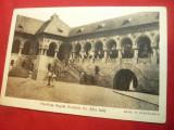 Ilustrata Alba-Iulia- Resedinta Regala Romana din Alba Iulia , foto V.Stefanescu, Necirculata, Printata