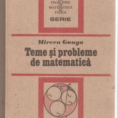 Mircea Ganga-Teme si probleme de matematica