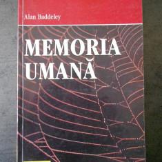 ALAN BADDELEY - MEMORIA UMANA