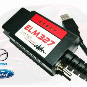 ELM327 HS MS CAN chip FTDI, Focccus, ELM Config, FORScan Ford-Mazda
