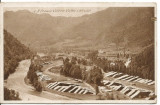 (A)carte postala(ilustrata)-VALCEA -BREZOI-Valea Lotrului, Circulata, Printata