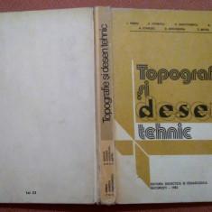 Topografie si desen tehnic. Aparut 1983 - I. Vieriu, P. Ionescu, C. Deaconescu