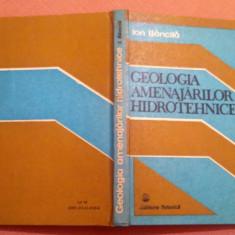 Geologia Amenajarilor Hidrotehnice - Ion Bancila, Alta editura, 1989