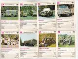 bnk jc Germania - carti de joc cu vehicule militare