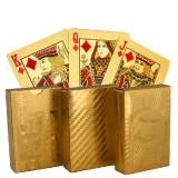 Cărți de joc de lux aurii