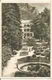 (A)carte postala(ilustrata)-CARAS SEVERIN-Baile Herculane-Parcul, Necirculata, Printata