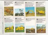 bnk jc Germania - carti de joc - utilaje de constructii