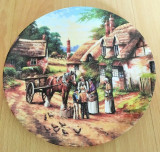 Farfurie - de colectie - port. Englezesc - Wedgwood - Country Days - 1992