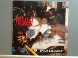 N.W.A.(Dr.Dre & Ice T)  – EFIL4ZAGGINN (1991/PRIORITY/GERMANY) - Vinil  RAR/VG+, warner