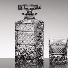 Set pahare Set 6 pahare de whisky din cristal