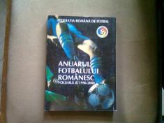 Anuarul fotbalului romanesc vol.8 1996-2000 foto