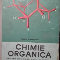 Chimie organica – Costin Nenitescu