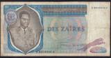 Zair 10 Zaires s8658046 1972