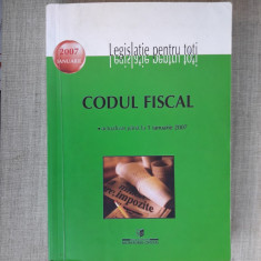 CODUL FISCAL ,  LEGISLATIE PENTRU TOTI -