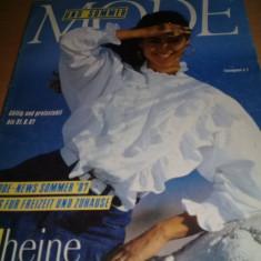 Revista veche de Moda,MODE-NEWS SOMMER 1987,haine(heine),Tp.GRATUIT