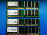 4 GB DDRAM1 Memorie RAM DDR400, testat 4x1 GB Sycron, DDR, Quad channel