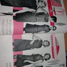 Revista/Catalog PRODUSE TEXTILE INCALTAMINTE,MODA 1967-1968,T.GRATUIT