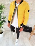 Geaca de iarna pentru barbati - galbena - PREMIUM- model 2018 - A2601 N4-3, L, M, S, XL