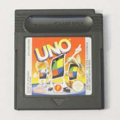 Joc Nintendo Gameboy Classic - UNO, Actiune, Toate varstele, Single player
