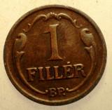 2.847 UNGARIA 1 FILLER 1938, Europa, Bronz