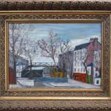Peisaj urban - semnat  Bunescu