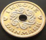 Moneda 1 Coroana - DANEMARCA, anul 2001 *cod 3290 --- UNC