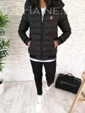 Geaca de iarna pentru barbati - neagra - PREMIUM- model 2018 - A2614, L, M, S, XL