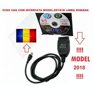 VAG COM Interfata Diagnoza Vw Audi Seat Skoda VAG COM soft 17.8/18.2