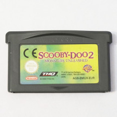 Joc Nintendo Gameboy Advance GBA - Scooby Doo 2 Monsters Unleashed, Actiune, Toate varstele, Single player
