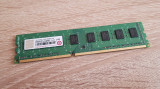 4GB DDR3 Desktop Transcend,1x4GB,1333Mhz,PC3-10600,CL9, DDR 3, 4 GB, 1333 mhz