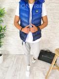 Vesta albastra degrade - vesta fas - vesta barbati - COLECTIE NOUA - A2615 O2-2, L, M, S, XL, Din imagine, Sport