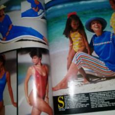 Revista veche de Moda,ALBA MODA Vara 1988,Tp.GRATUIT