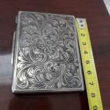 Vand tabachera din argint