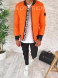 Geaca de iarna pentru barbati - portocalie - PREMIUM- model 2018 - A2602 N4-4, L, M, S, XL
