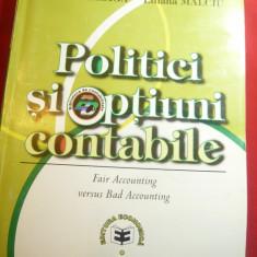 N.Feleaga - Politici si Optiuni Contabile 2002 Ed. Economica , 464 pag