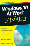 Windows 10 at Work for Dummies, Paperback