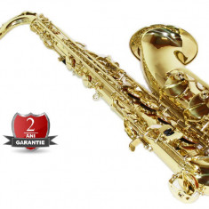 Tenor Saxafon AURIU GOLD SAX curbat Cherrystone Saxophone Si b Bb